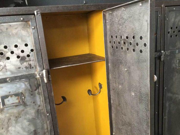 25 best ideas about vestiaire industriel on pinterest casier vestiaire ca - Vestiaire metallique vintage ...