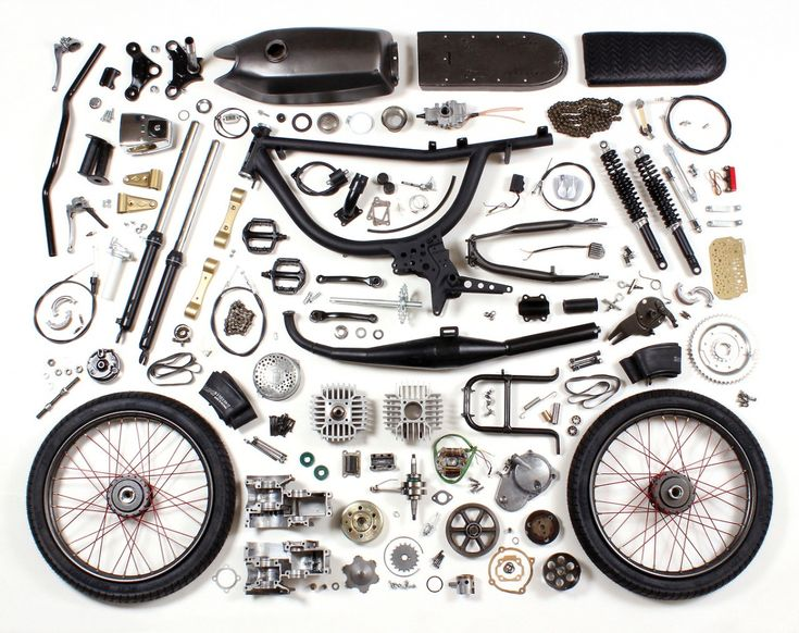 The Puch Magnum. Everything you need. Nothing you don't.