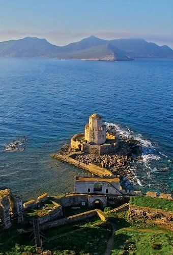 Methoni Castle, Peloponnese, Greece