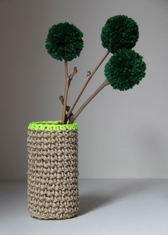 crochet design, sustainable design, handmade, jute homewares