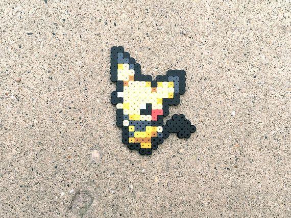 Pichu Pikachu Raichu Alola Raichu Pokemon Perler