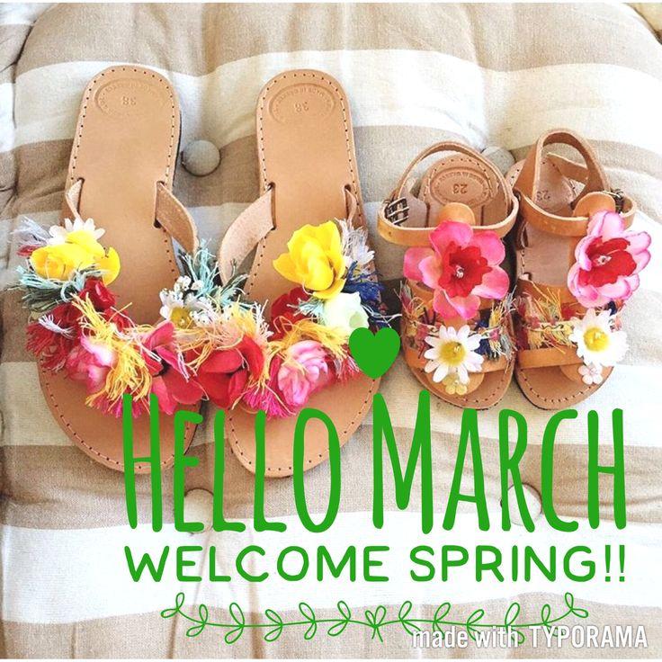 Yes, it's official! 🌸S P R I N G 🌺 is finally here!!!!!! . . . #spring #newseason #march #newcollection #instalove #instafashion #instashoes #happy #springishere #flowers #flowercollection #multicolored  #flowersandals  #sibylladelphica 💙