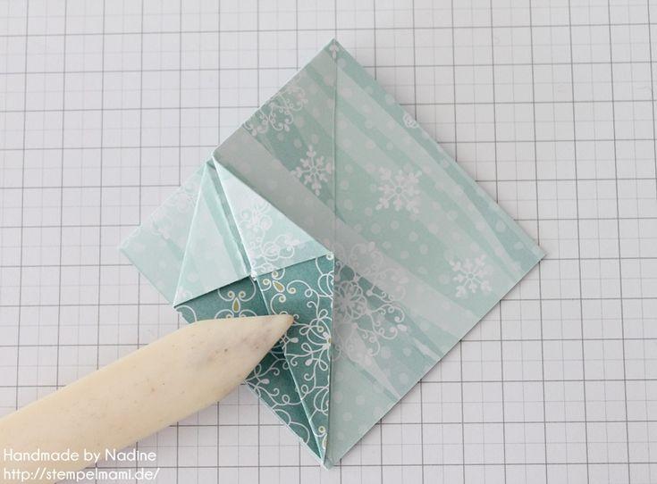 die besten 25 schachtel falten mit deckel ideen auf pinterest servietten falten diamant. Black Bedroom Furniture Sets. Home Design Ideas