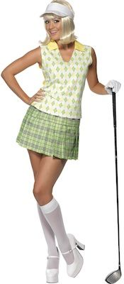 Women's Gone Golfing Costume