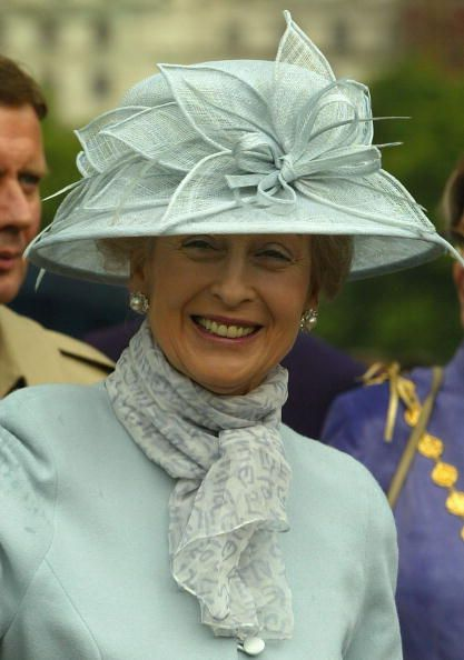 Princess Alexandra of Kent, Lady Ogilvy.  First cousin of Queen Elizabeth II.