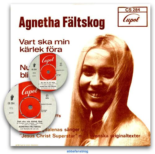 "Today in 1972 Agnetha's single ""Vart Ska Min Karlek Fora"" entered the Swedish charts #Abba #Agnetha #Vinyl http://abbafansblog.blogspot.co.uk/2017/03/26th-march-1972.html"