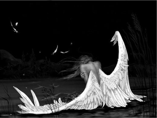 Can broken wings fly again without the fear of breaking again? YES YES YES...FREEDOM!!! :)