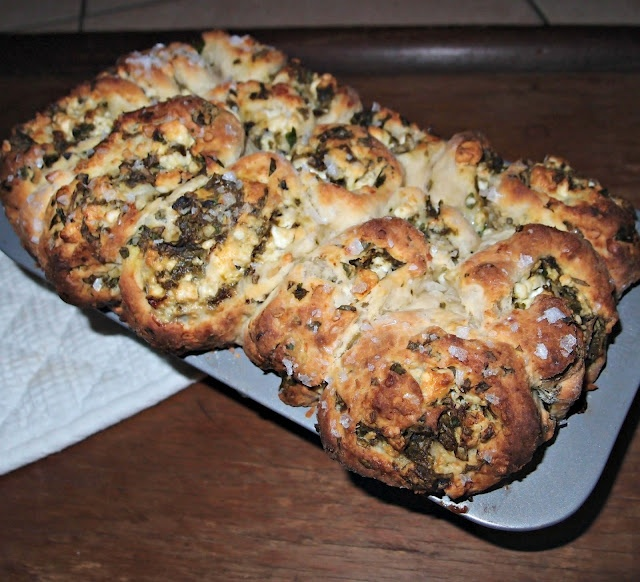 Killer Cheese and Basil Pull-Apart Recipe (Milk and Honey)