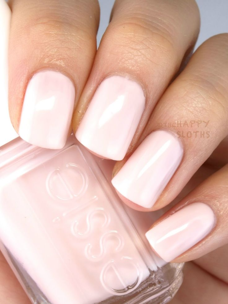 Looking for a classic sheer milky pink nail polish for your wedding day? 'tying the knotie' from the essie 2015 bridal collection is sure to be a match made in heaven.