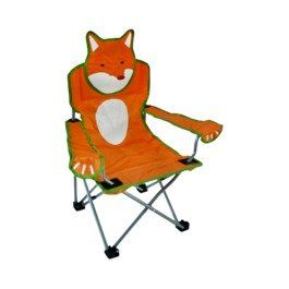For around the campfire! Amazon.com: Embark Kids' Camp Chair - Fox: Toys & Games