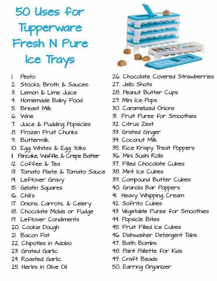 Fresh & Pure Ice Tray ideas