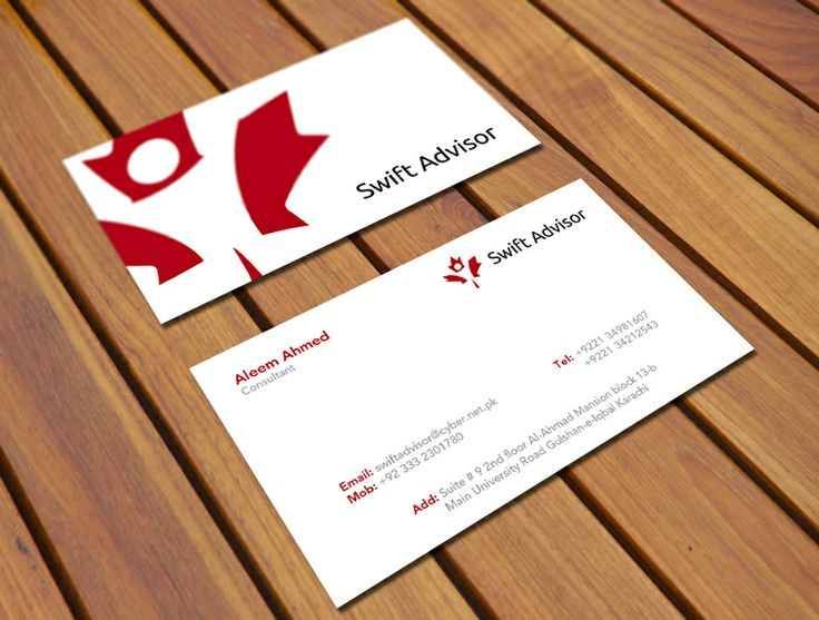 Best Visiting Card Images On   Business Cards Carte