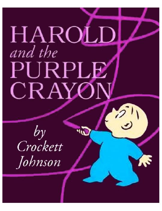 fishpond australia harold and the purple crayon by crockett johnson buy books online harold and the purple crayon isbn crockett johnson - The Color Purple Book Pdf