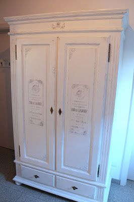 Ideal DIY Shabby Chic Kleiderschrank