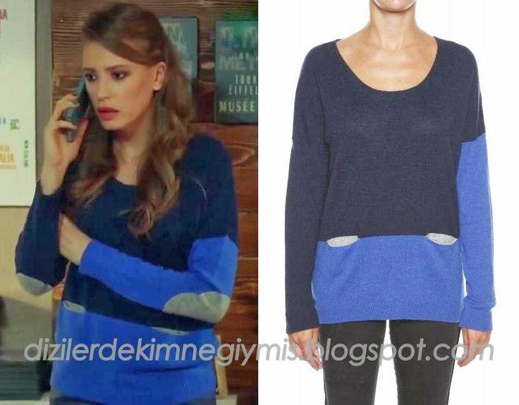 Medcezir - Mira (Serenay Sarıkaya), Blue-Navy Sweater