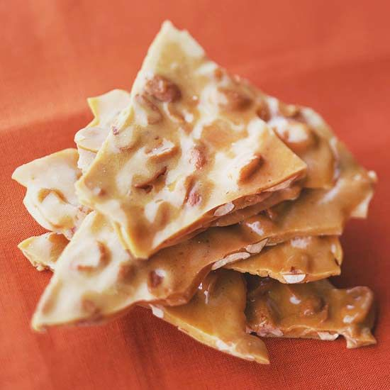 Peanut Brittle--my absolute fav. A great holiday dessert. I have been known
