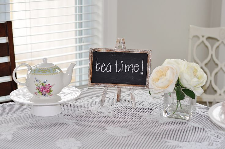 Tea Time! Vintage Tea Party