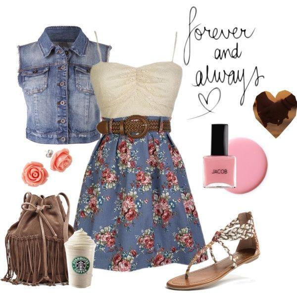 Teenage girl dresses for summer