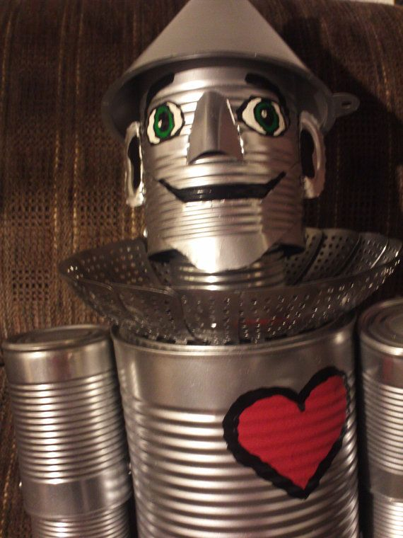 72 best tinmen and such images on pinterest tin can for Tin can tin man craft