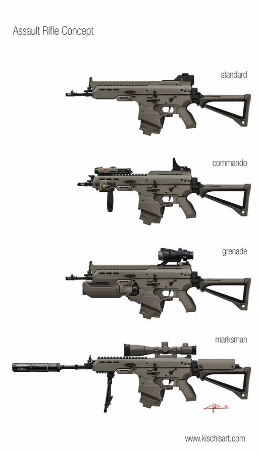 assault rifle concept