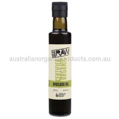 EVERY BIT ORGANIC RAW Avocado Oil Cold Pressed & Extra Virgin 250ml