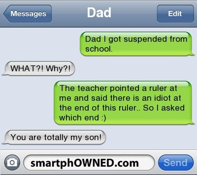 Awkward Parents - DadDad i got suspended from school.WHAT ...