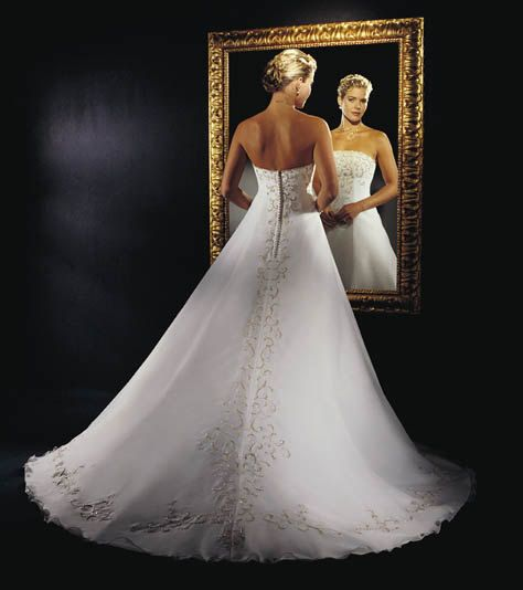 Wedding Gown  Size 12 by BaptismSupplies on Etsy