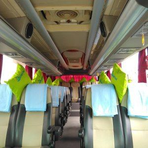 Sewa bus Pariwisata Jogja seat 35