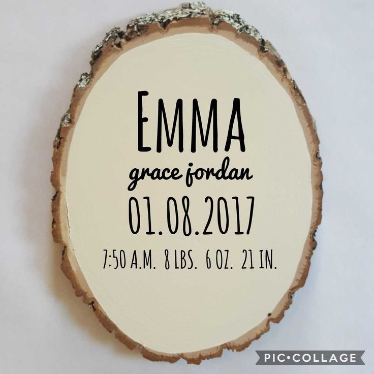 Personalized Baby Name Stats Wood Plaque Woodland Nursery