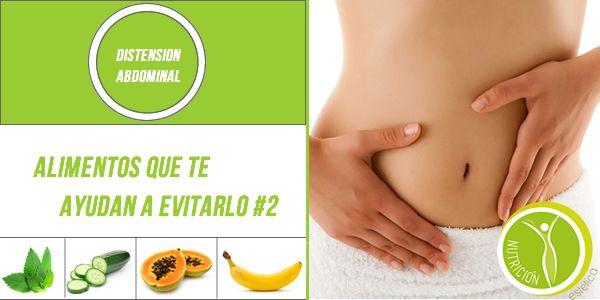 Distensión Abdominal ¿Qué alimentos te ayudan? #2  #NutricionistaLima
