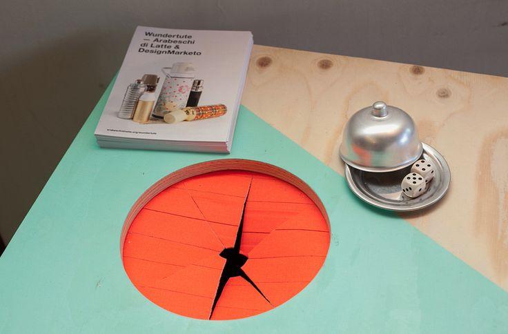 Wundertute tea house by Arabeschi di Latte and  Designmarketo. Photography: Amandine Alessandra #food