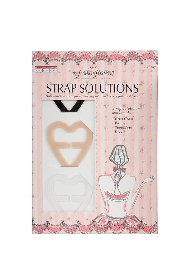 Fashion Forms Strap Solutions - Ladies Lingerie Department - www.mcelhinneys.com