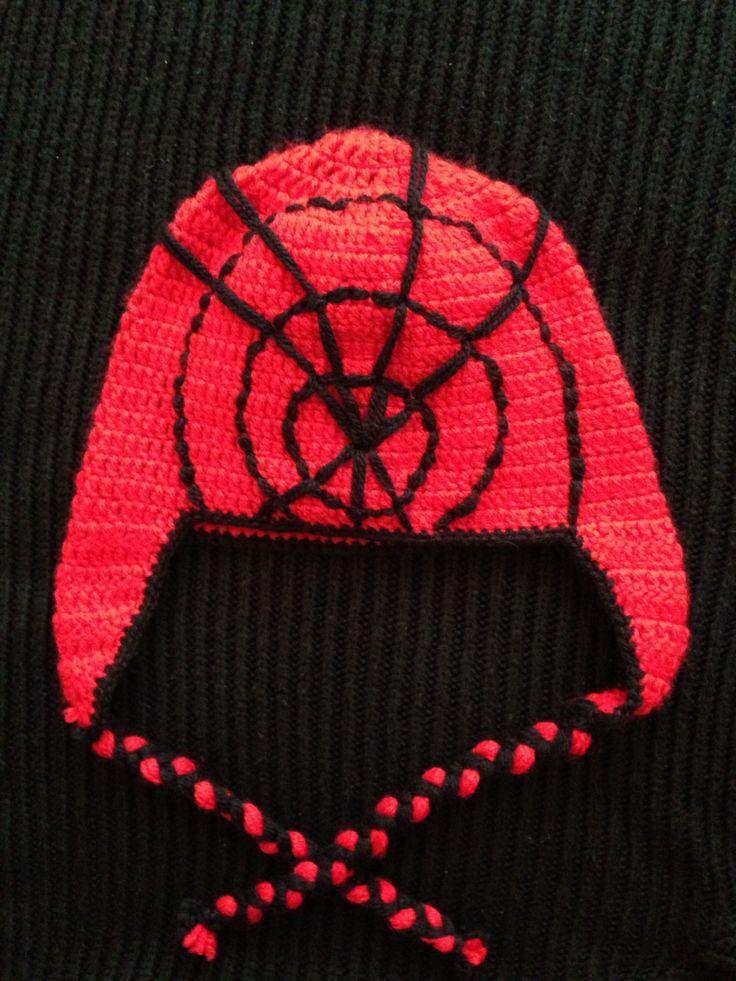 Spiderman şapkası
