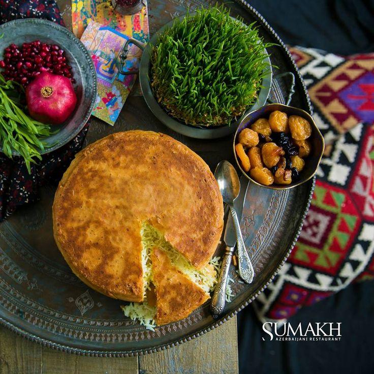 Festive Shakh pilaf #sumakhrestaurant #sumakh #beatgroup #baku #azerbaijan #nationalcuisine #traditionalcuisine #food #cuisine #restaurants #pilafs #shakh #shakhpilaf #novruz #holiday
