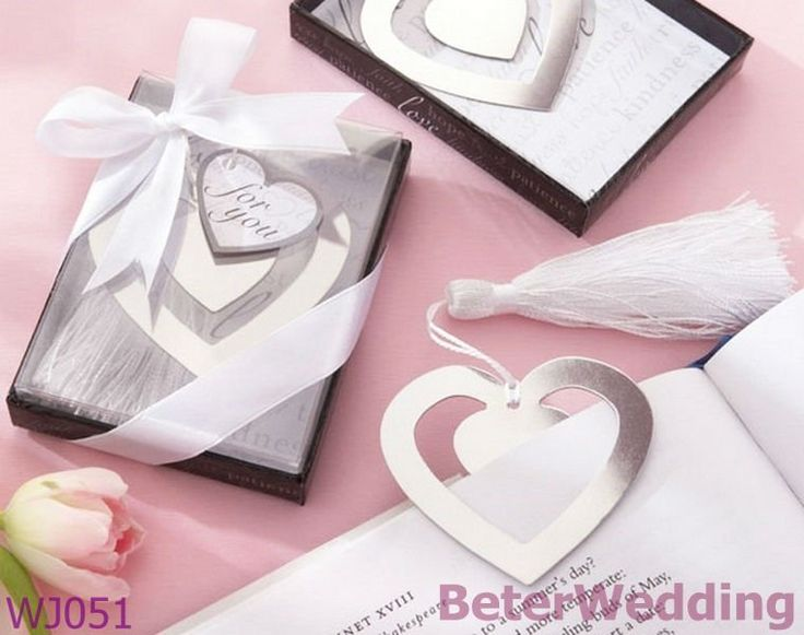 Aliexpress.com : Buy Wedding souvenir wholesale WJ051 Love Story Silver Finish Heart Shaped Bookmark with Elegant Silk Tassel from Reliable Wedding souvenir suppliers on Your Unique Wedding Favors $45.00