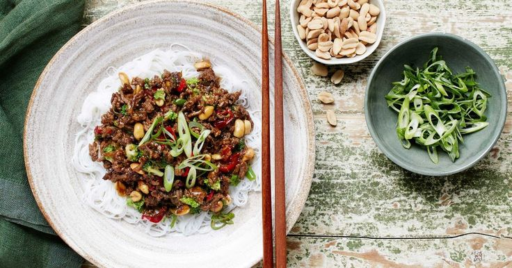Serve up a fragrant Asian-inspired dish with this 20-minute spicy beef and broccoli stir-fry. Recipe by Curtis Stone.