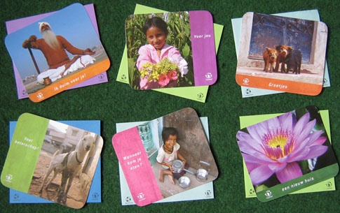 FairMail - a wonderful company producing fair trade greeting cards and postcards from photos taken by underprivileged teens in India and Peru.