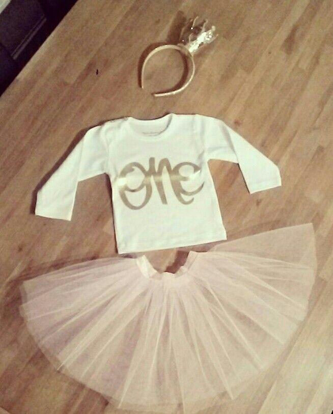 Homemade tutu  #birthday#outfit#hiphiphooray