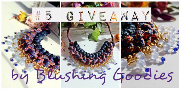 Giveaway: Blushing Goodies