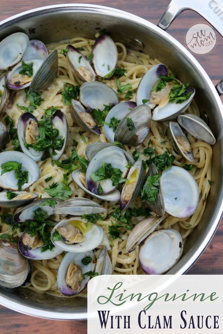 This Linguine and Clam Sauce Recipe is so delicious and full of flavor with fresh clams and just a pinch of heat. Our new favorite pasta recipe!