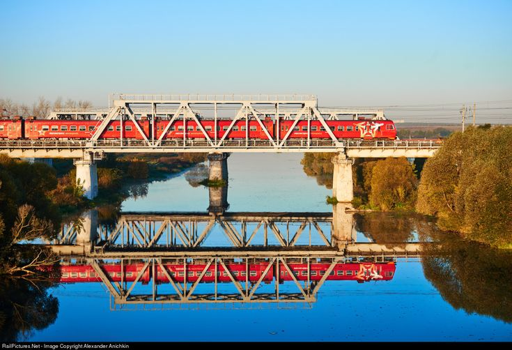 RailPictures.Net Photo: Russian Railways ED4M at Moscow Region, Russia by Alexander Anichkin