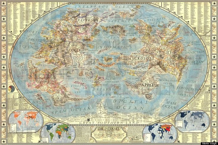 'Map Of The Internet' Shows You Where You REALLY LiveSocial Network, The Internet, Martin Vargic, Details Maps, Internet 10, Social Media, Internet Maps, Insanity Details, Beautiful Maps