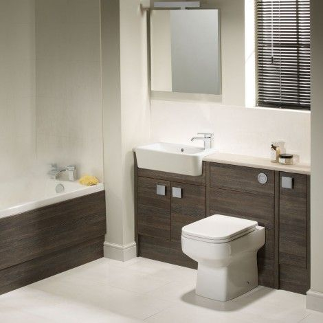 Aruba mali fitted bathroom furniture, the perfect space saving solution for a smaller bathroom