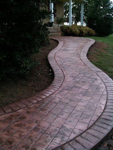 Stamped Concrete by DecorativeConcreteofVirginia.com, via Flickr