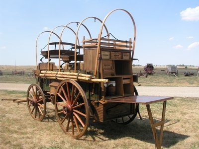 Another chuck wagon.  I'm kind of liking the idea of this for some sort of kitchen cupboard.