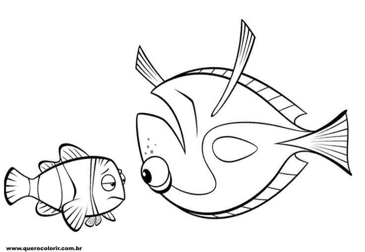 nemo coloring pages images google | 11 best Outlines // JIMMINY // PINOCHIO images on ...