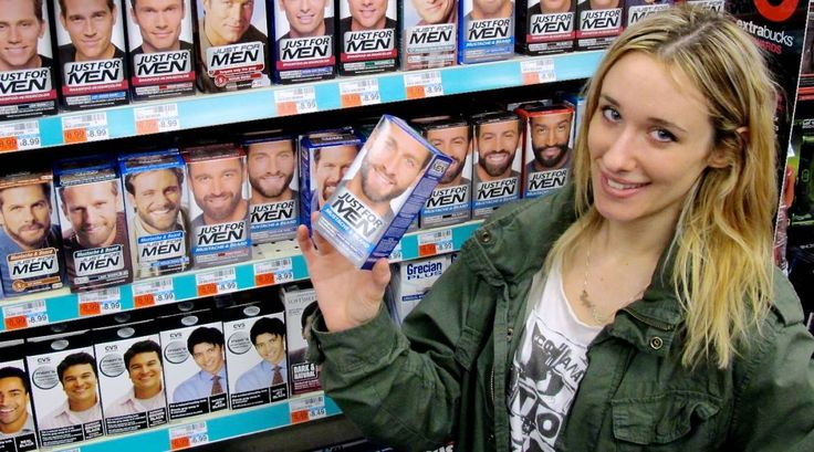 How to get sexy, darker eyebrows with inexpensive mustache dye.