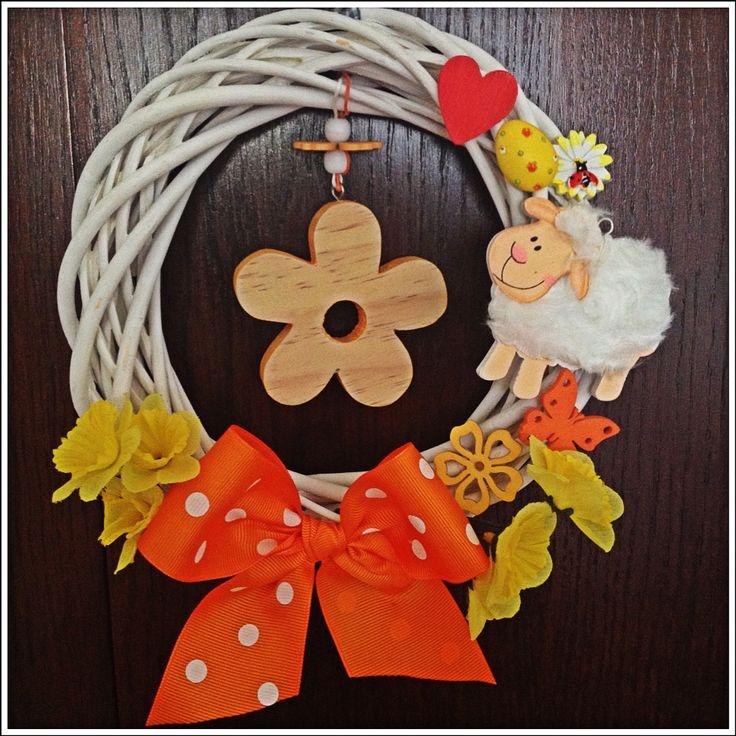 Jarní věnec oranžový :)