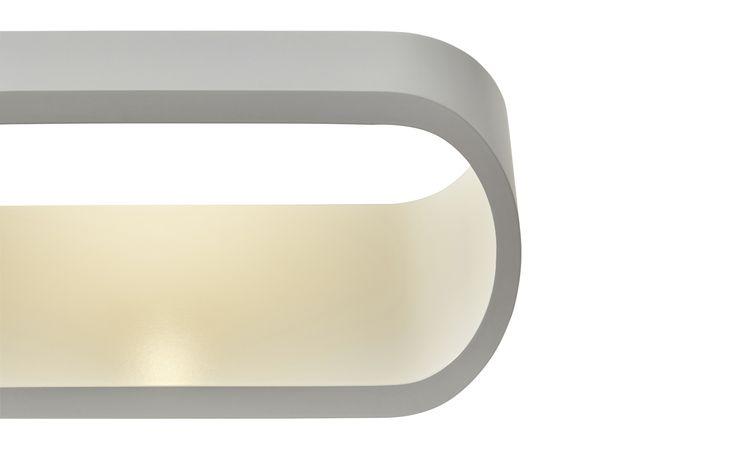 LED-Wandlampe weiß in edlem Design | Weiß | Höffner