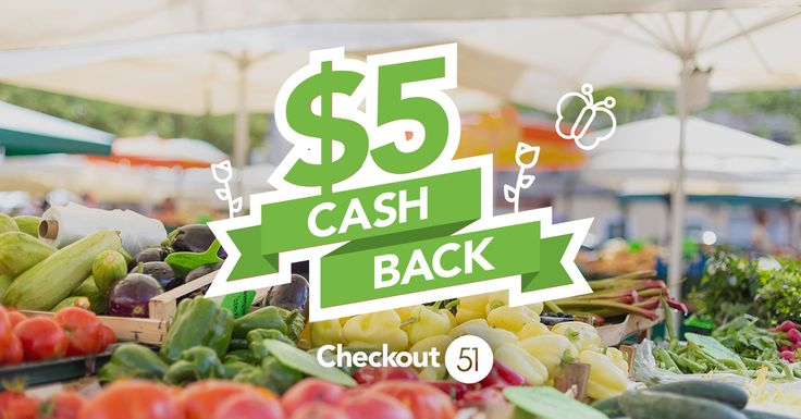 Checkout 51 changed the way I save money. Join today using my link and we'll both earn cash back!